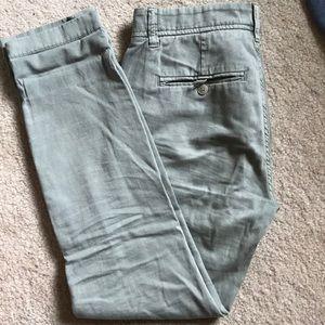 J. Crew Sunday Slim Chino pants